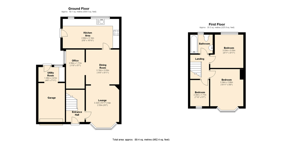 Sas epc floor plans for Sample home floor plans